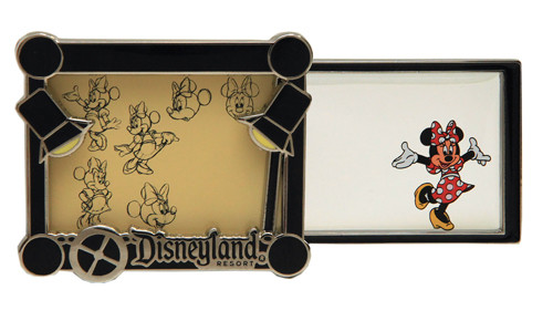 Disneyland 2014 Minnie Mouse Cell Pin