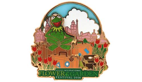 Epcot Flower Garden 2014 Muppets Pin