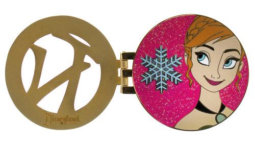Frozen Anna Disneyland Pin