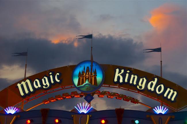 Magic Kingdom Sign