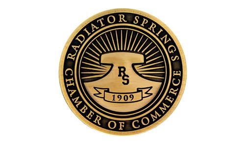 Radiator Springs Logo Pin