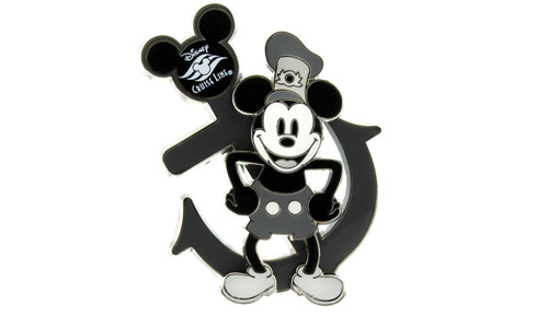 Steamboat Willie Anchor Pin