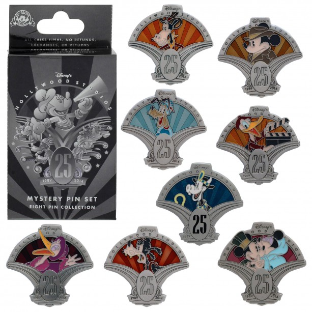 DHS 25th Anniversary Mystery Pin Set