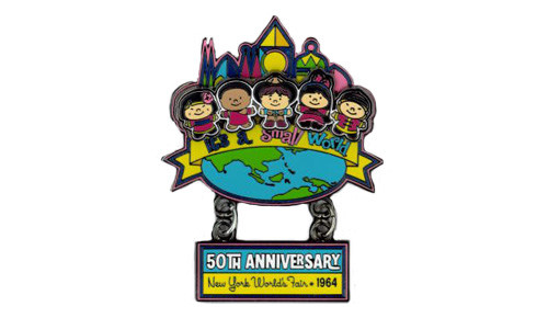 It's a small world 50th anniversary pin