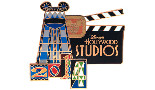 WDW Hollywood Studios Jumbo Pin 2014