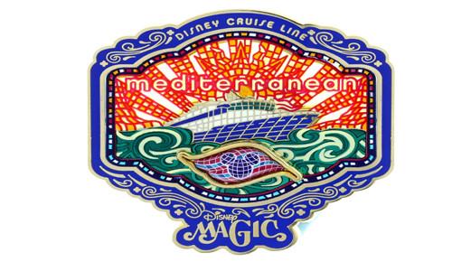 DCL Mediterranean Magic Pin