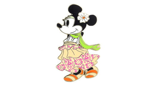Boho Minnie Mouse Pin