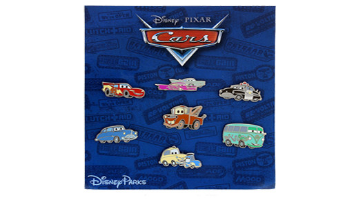 Cars Kitsch Mini-Pin Set