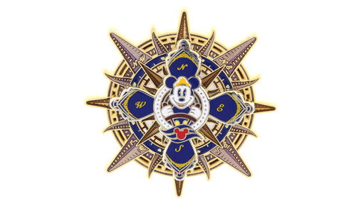 DCL Mickey Compass Pin
