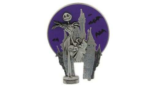 Disney Nightmare Jack Castle Pin