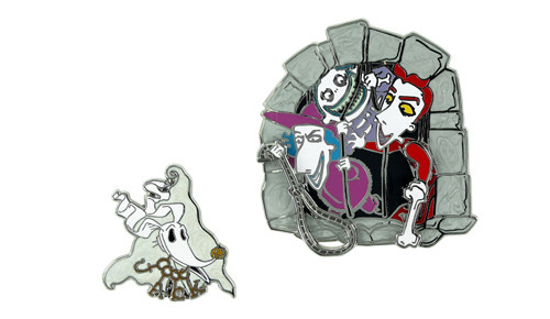 Disney Nightmare Pirates Pin Set