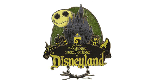 Disneyland Nightmare Jumbo Pin 2014