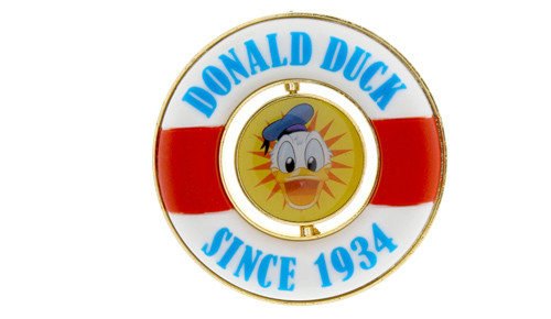 Donald Duck 80th Anniversary Pin