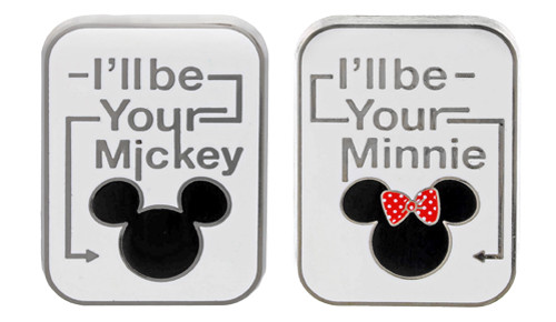 I'll be your Mickey Minnie Pins