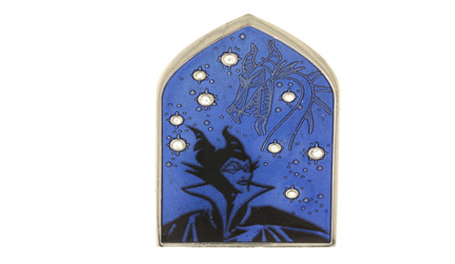 Malificent Constellation Pin