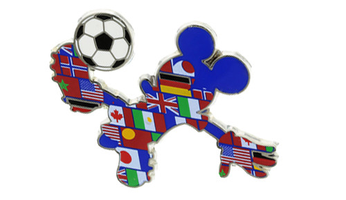 Mickey Country Soccer Player