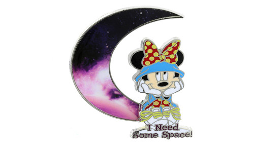 Minnie Mouse Space Pin