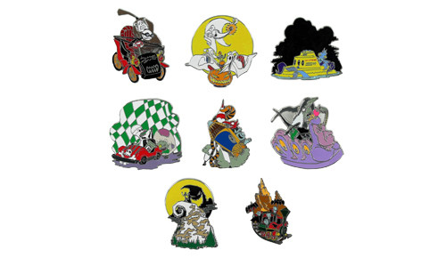 Nightmare Before Christmas Mystery Pin Set