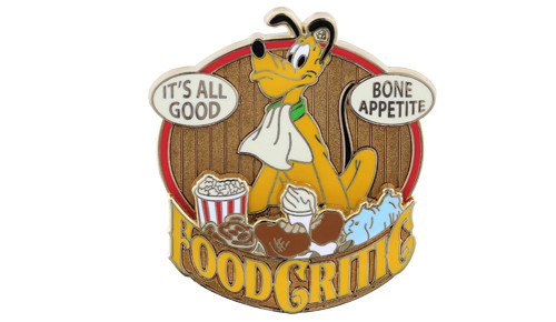 Pluto Food Critic Pin