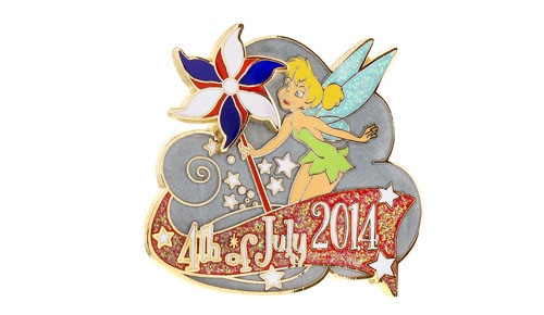 Tinker Bell July 4th 2014 Pin