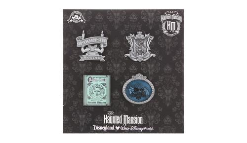 2014 Haunted Mansion Booster Pin Set