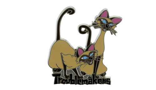 Disney Trouble Makers Pin