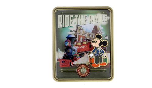 Disneyland Ride Rails Pin