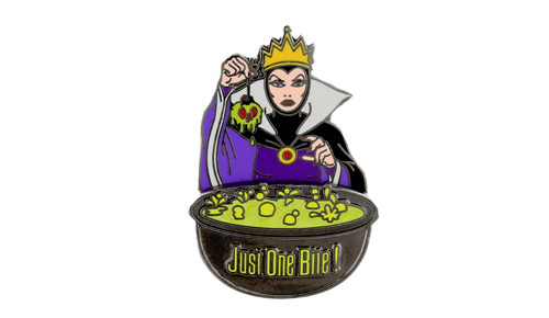 Evil Queen Just One Bite Pin