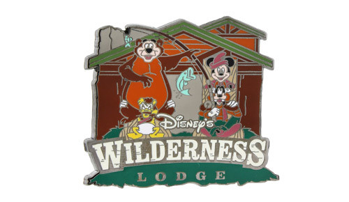 Fort Wilderness Lodge 2014 Mickey Pin