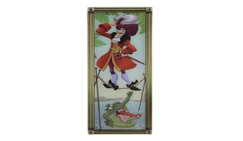 Haunted Mansion Captain Hook Pin