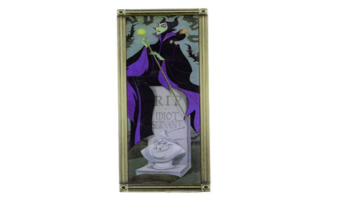 Haunted Mansion Maleficent Pin