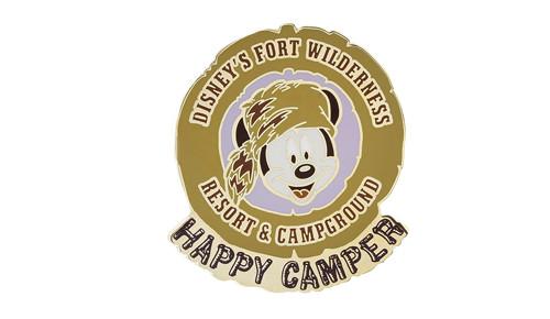 Mickey Happy Camper Pin