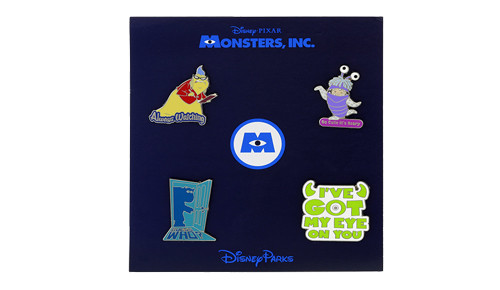 Monster Inc Booster Pin Set