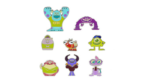 Monster University Mystery Pin Set