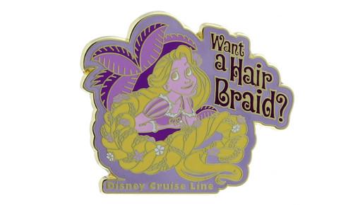Rapunzel Hair Braid Pin
