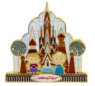 Disney Contemporary Resort Gingerbread Pin 2014