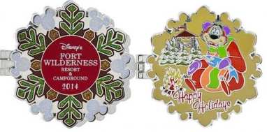 Fort Wilderness Resort Holiday Pin 2014