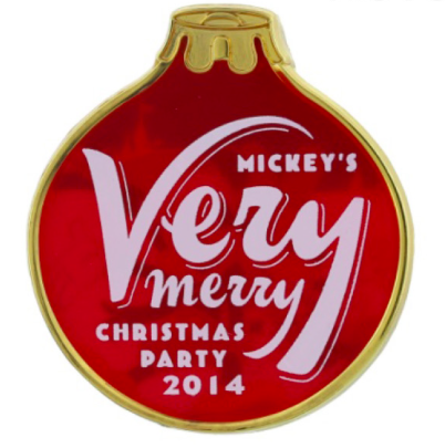 Mickey's Very Merry Christmas Party Ornament Pins