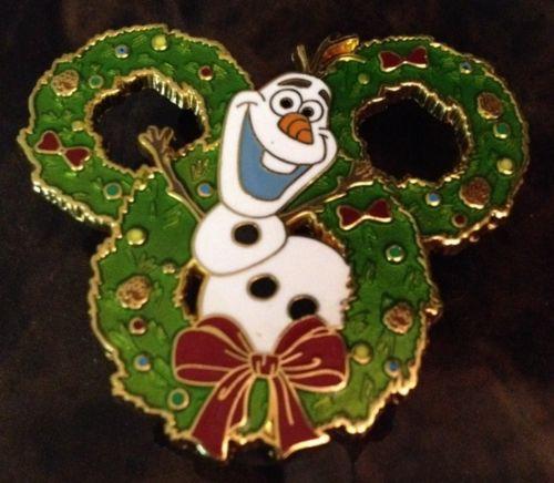 Olaf Wreath Pin