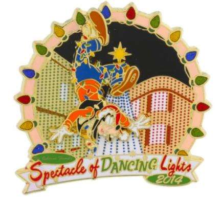 Osborne Family Spectacle Dancing Lights 2014 Pin