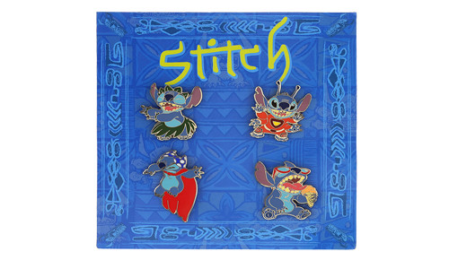 Stitch Booster Pin Set