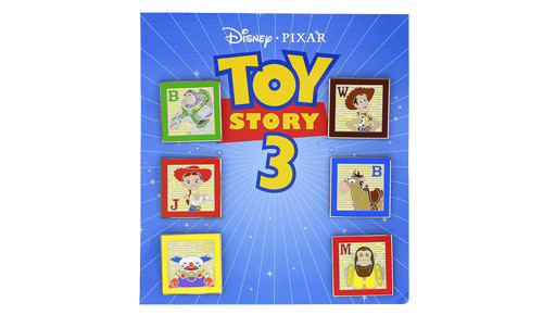 Toy Story 3 Mini-Pin Set