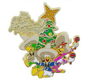 Viva Navidad 2014 Pin