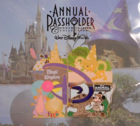 Walt Disney World Annual Passholder 2014 Pin