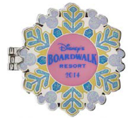 Walt Disney World Holiday Resort Pins 2014