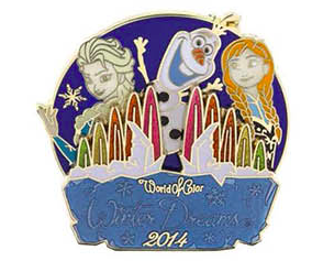 World of Color Winter Dreams 2014 Pin