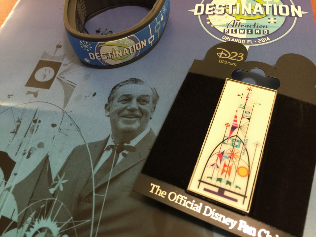 D23 MagicBand and Pin
