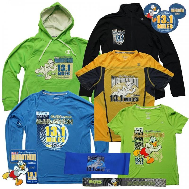 2015 WDW Half Marathon Merchandise