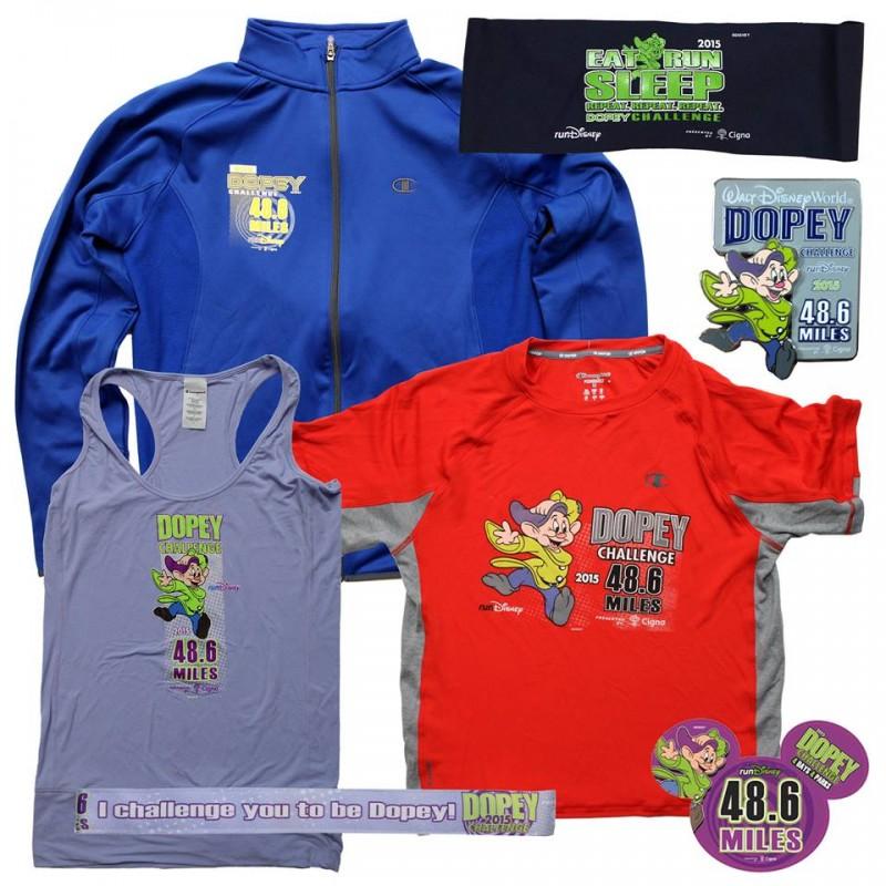 2015 WDW Marathon Dopey Merchandise