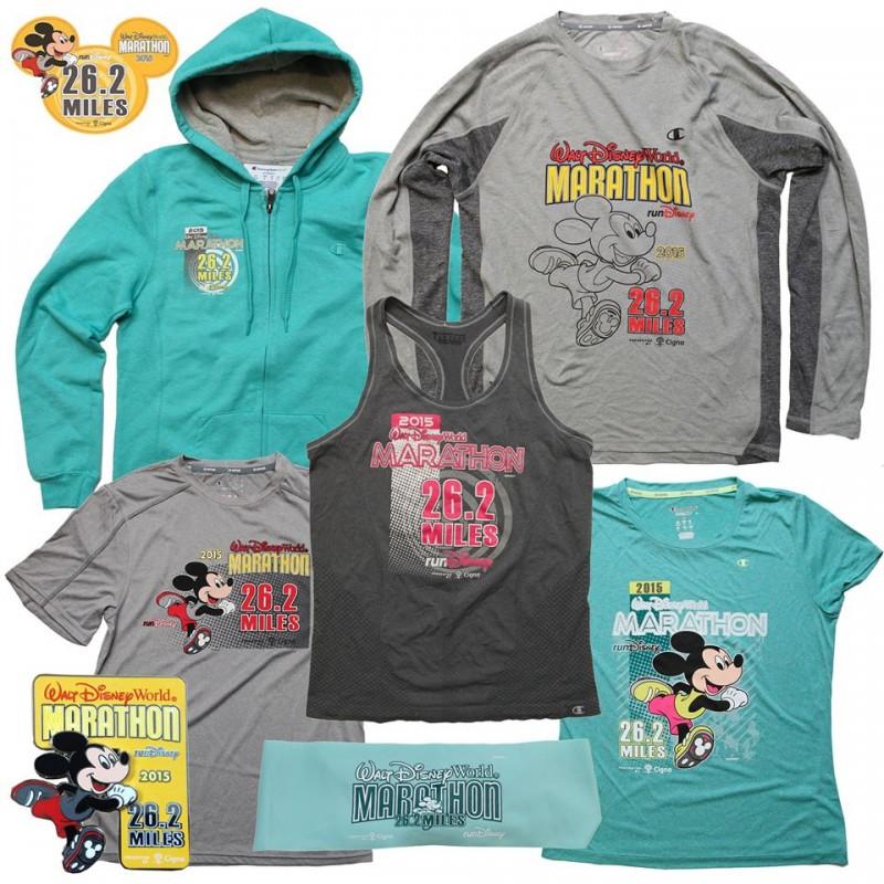 2015 WDW Marathon Merchandise